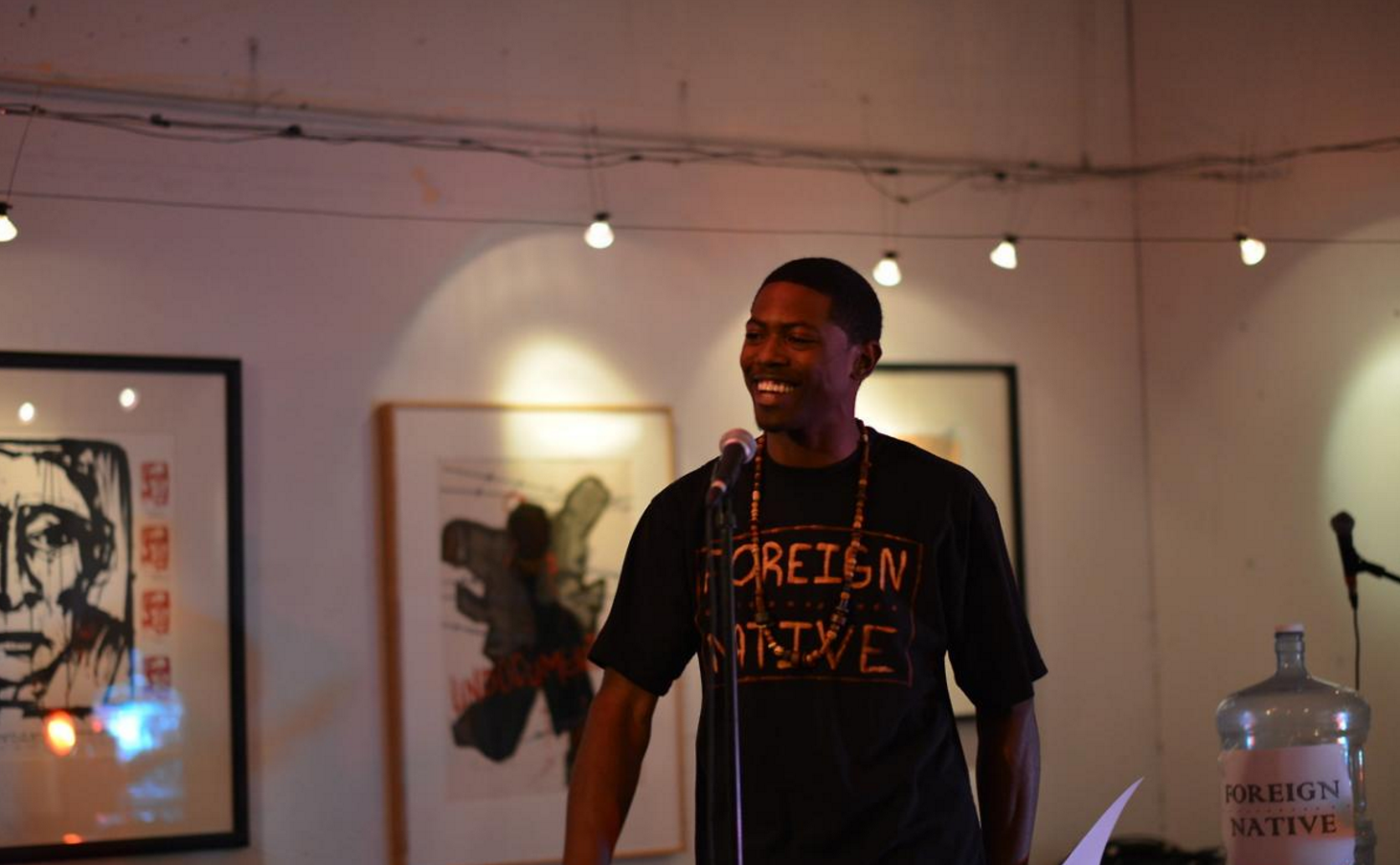Penny 4 Your Thoughts: Poet-Mentor Dre-T founds open mic program